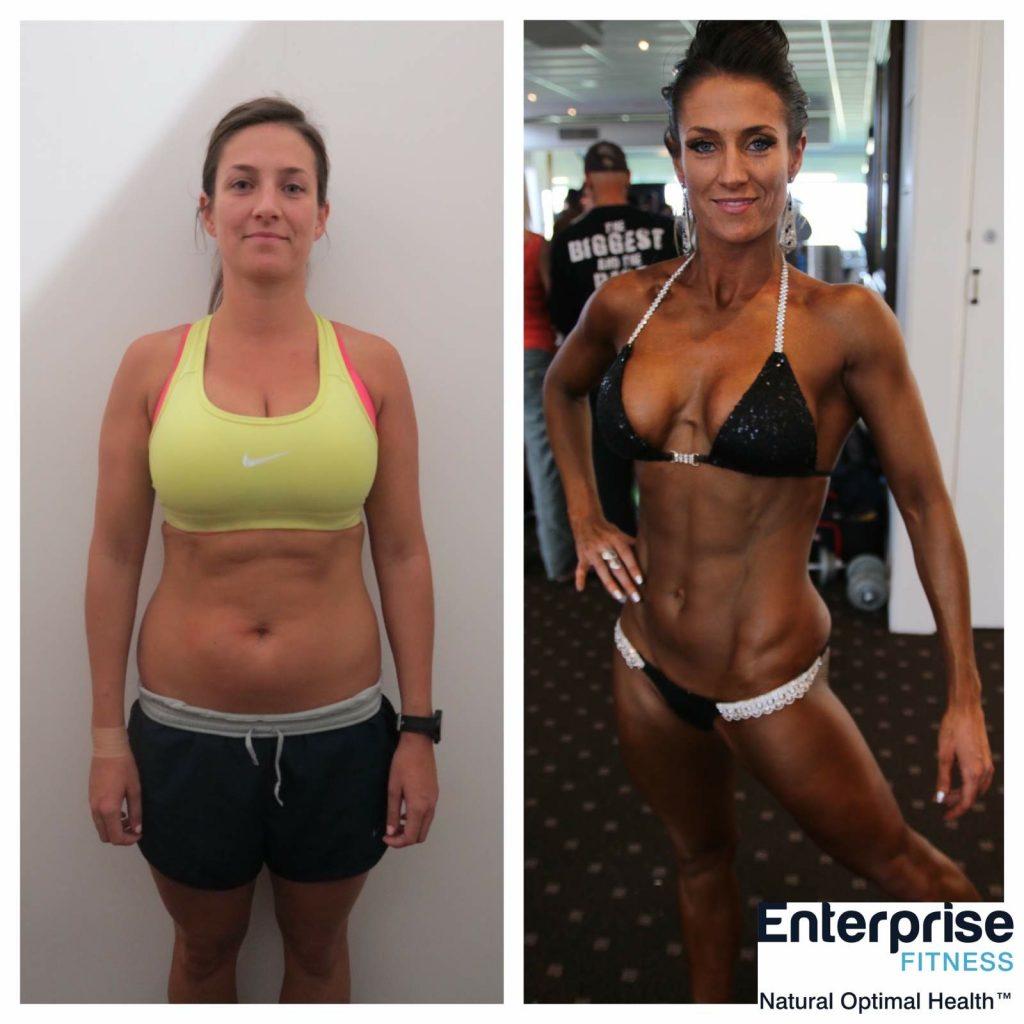 Melbourne personal trainer transformation